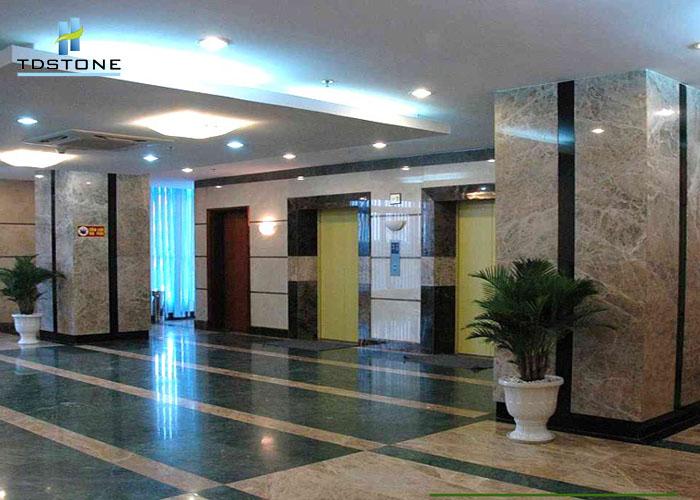 Đá marble xanh dưa hấu lát sàn