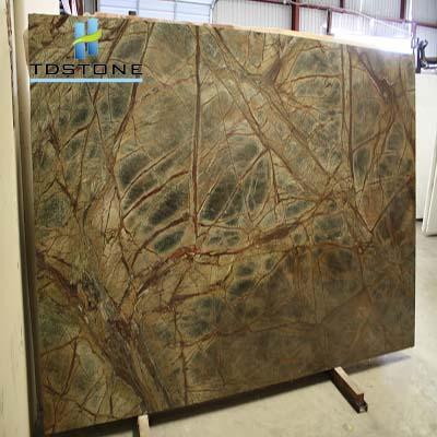 đá marble xanh nhiệt đới