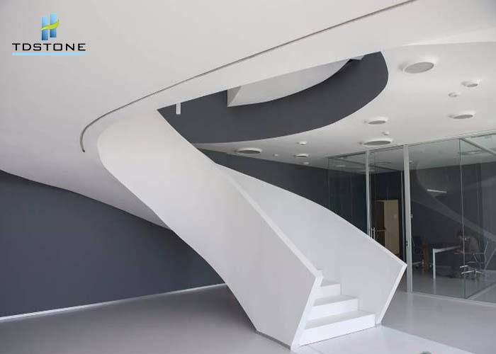 đá cầu thang solid surface