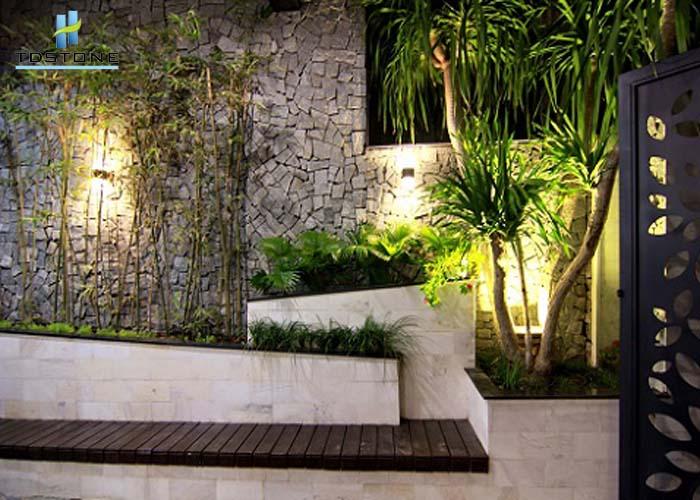đá tự nhiên lát tường nhà đẹp