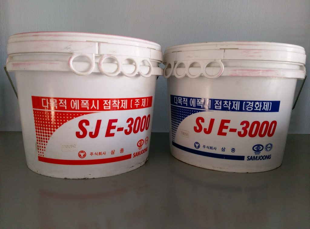 KEO EPOXY HAI THÀNH PHẦN HÀN QUỐC SJE-3000